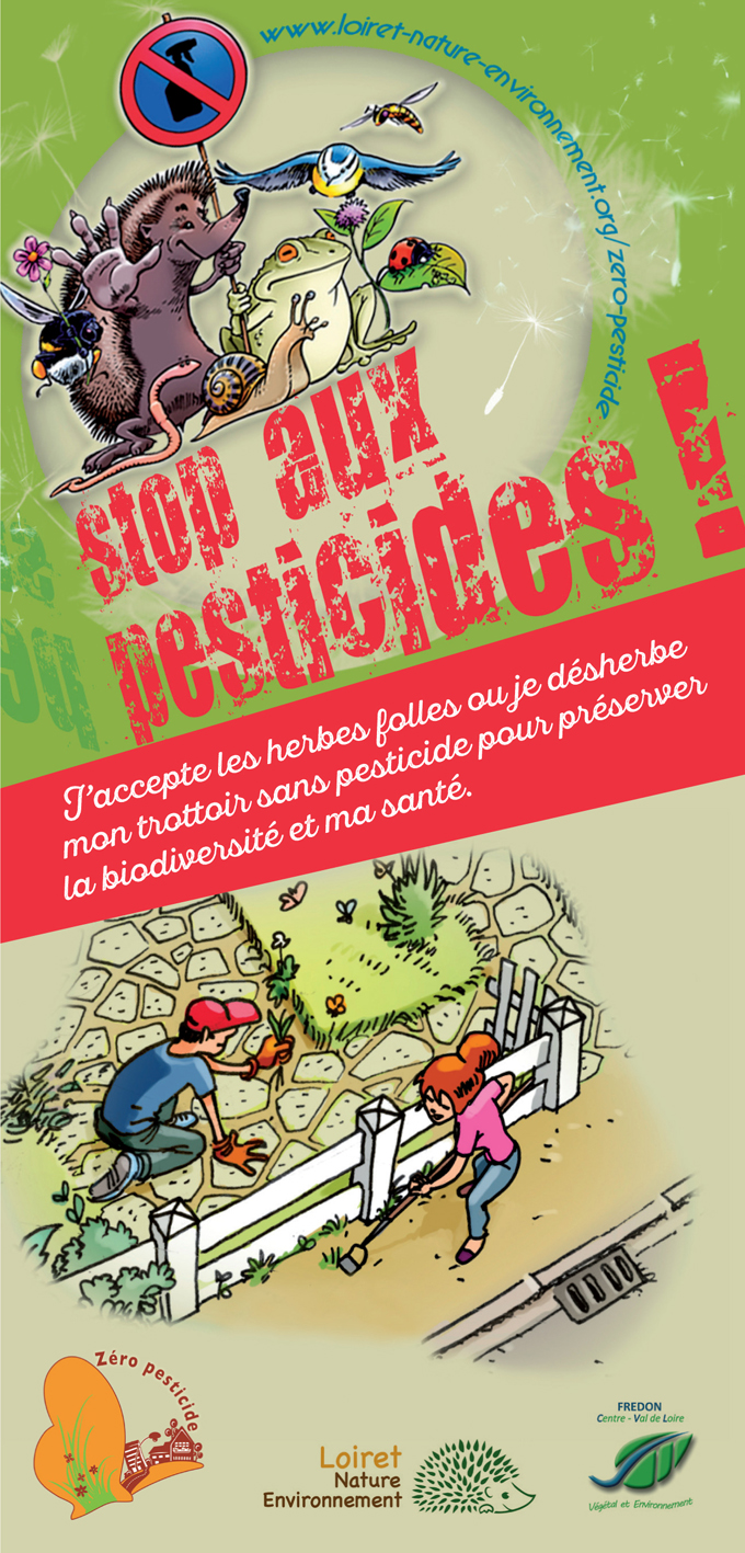 Dépliant stop pesticides